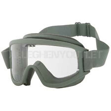 OAKLEY ESS Land Ops Green Frame / Clear Lens Ski Snow Board Winter Goggles EXC