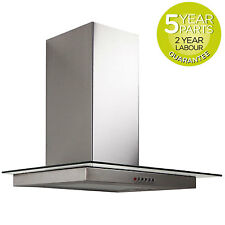 MyAppliances ART11401 60cm Flat Glass Cooker Hood Extractor in Stainless Steel
