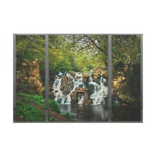 Cascata TRITTICO Canvas Picture - 3 QUADRI SPLIT H90 x w120cm