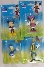 Disney Mickey Minnie Donald Duck Goofy Club House Mini Figures Cake Toppers Set