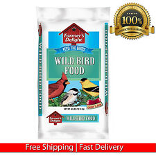 40 LB. WAGNER'S FARMER'S DELIGHT WILD BIRD SEED MIX BACKYARD FEEDER NEW FOOD BAG