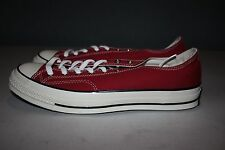 CONVERSE ALL STAR CHUCK TAYLOR CT 70 LOW CRIMSON RED SIZE 10.5 142337C 1970