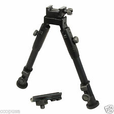 "CCOP USA 9"" Tactical Hunting Rifle Picatinny Swivel Stud Mount Bipod BP-59S"