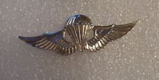 JAPAN PARACHUTE BADGE,CURRENT MADE FOR U.S. QUALIFIED RECIPIENTS CLUTCH BACK