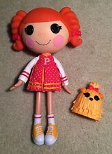 "Lalaloopsy Doll Peppy Pom Poms 12"" With Dog Pet 2010"