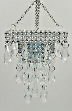 "SQUARE-BATTERY OPERATED ""CHANDELIER"" FOR DIORAMA-Barbie, Fashion Royalty *** NEW"