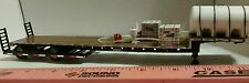 1/64 ERTL farm toy custom sprayer hauler chemical trailer loaded dcp stepdeck