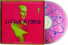 Elvis COSTELLO CD Little Atoms 4 Track Almost Ideal Eyes + 2 LIVE in San Fran.