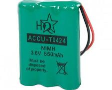 Accumulateur NIMH 3.6V 600mAH Cordless Phone Battery T0424