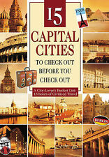 DVD: 15 Capital Cities to Check Out Before You Check Out, Liam Dale. New Cond.: