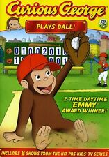 Curious George: Plays Ball! (2011, REGION 1 DVD New)