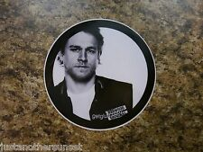 SDCC Promo Sticker Decal LARGE Sons of Anarchy Samcro Jax Teller Charlie Hunnam