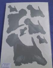 Westie/West Highland White Terrier  stickers