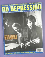 NO DEPRESSION - Country Music Magazine March/ April 1999 - Steve Earl ...
