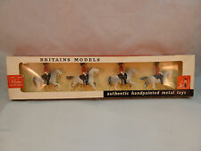 Britains Metal Models Soldiers Royal Scots Greys 9210 Set of 4 in Box 1962