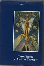 TAROT THOTH DE ALEISTER CROWLEY - Portuguese / Brazil Edition - NEW CARDS