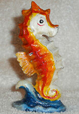 SEA HORSE NEW PAINTED CAST IRON BOTTLE OPENER BAR VINTAGE STYLE FIGURINE DECOR