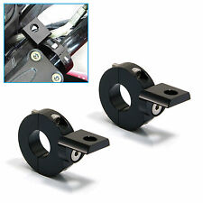 Motorcycle Crash Bar Handlebar Mount CNC Spotlight/ Fog Light Brackets 22mm 7/8