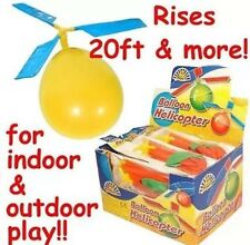 24x Balloon Helicopter Chopper Great Party Bag Filler for Boys and Girls UK SELL