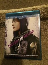 Import Justin Bieber Never Say Never Triple Play 2 Disc USA Blu-Ray L@@K