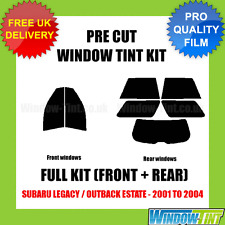 SUBARU LEGACY / OUTBACK ESTATE 2001-2004 FULL PRE CUT WINDOW TINT KIT