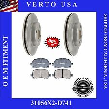 Complete Front Kit Brake Pad & Rotors  fit  98-02 Toyota Corolla & Chevy Prizm