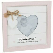 Provence Message Heart Photo Frame baby girl Ideal Gift NEW  24707