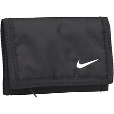 Nike Black Trifold Wallet Zip Coins Cards Cash Trifold Rare Men Women Unisex