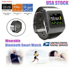 CONTEC CMS50K Wearable SpO2/ECG  Wireless Bluetooth Smart Watch Color OLED FDA