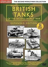 British Tanks Of The Second World War: Expanded Ed (2015, REGION 0 DVD New)