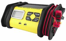 10 Amp 12V Battery Charger Maintainer Tender Car/Truck/Riding Mower/Boat