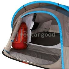 2013 Quechua Tent Camping 2 Seconds XL Air II Pop Up Tent, Grey/Blue , 2 Man