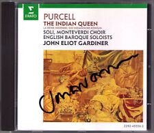 John Eliot GARDINER Signiert PURCELL THE INDIAN QUEEN Rosemary Hardy Martyn Hill