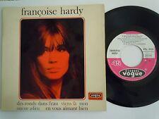 FRANCOISE HARDY  Des Ronds Dans l´eau  EP FRENCH VOGUE 1967