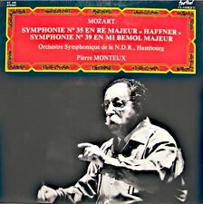 ++PIERRE MONTEUX/HAMBOURG symphonie n° 35/39 MOZART LP 1978 FESTIVAL NM++