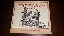 TEMOIGNAGES 1939-1945 - Association Nationale des Cheminots A.C.1981