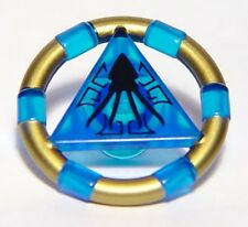 LEGO 7985 Atlantis - Treasure Key w/ Gold Bands and Squid Pattern - Blue
