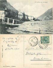 (Cressogno) un saluto da Cresogno RARO ERRORE STAMPA anno 1910 (R-L 023)