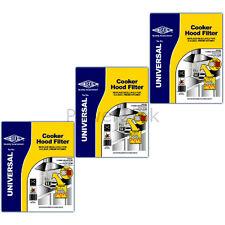 3 x FABER CAPPA UNIVERSALE Estrattore Grasso & Odore Carbonio Carbone Filtri