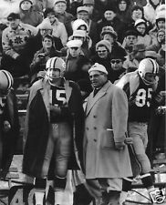 BART STARR-VINCE LOMBARDI GREEN BAY PACKER 8X10 SPORTS PHOTO