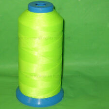 Neon Yellow REFLECTION Sewing Thread Bonded Nylon #69 T70 shoes canvas leather