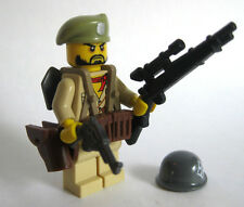 Lego Custom WW2 Infantry SOLDIER Minifigure Brickforge Weapons Army Military