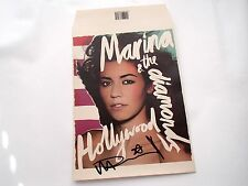 "MARINA AND THE DIAMONDS - HOLLYWOOD - SIGNED 7"" ENVELOPE SLEEVE (NO 7"" VINYL)"
