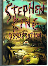 DESPERATION by Stephen King (1996, Hardcover/Dust Jacket) First Edition  1st/1st