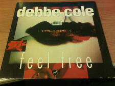 "12"" MIX DEBBE COLE FEEL FREE TIME 004 VG/VG+ ITALY PS 1992 VSC"