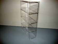 "Acrylic Lucite Countertop Display Case ShowCase Box Cabinet 9 1/2"" x 4"" x 16"""