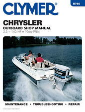 Clymer Chrysler Outboard Shop/Repair Manual, 3.5-140 HP, 1966-1984 (B750)