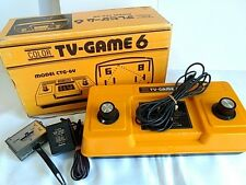 Nintendo TV GAME 6(CTG-6V) console,PSU with boxed set/tested -B-