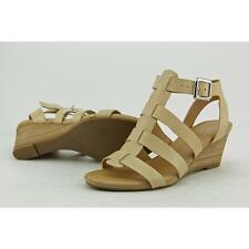 Franco Sarto Deena Women US 7.5 Nude Sandals Pre Owned  1107