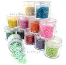 12 COLORE GLITTER POLVERE SET 4 Nail Art ACRILICO TIPS DECORAZIONE GEL UV 419
